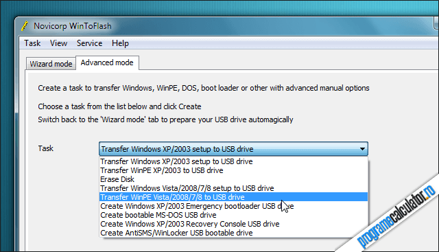Crearea USB bootabil cu Windows 7 si Windows 8