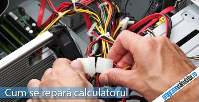 Cum se repară calculatorul