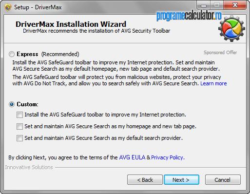 DriverMax: instalare fără gunoaie