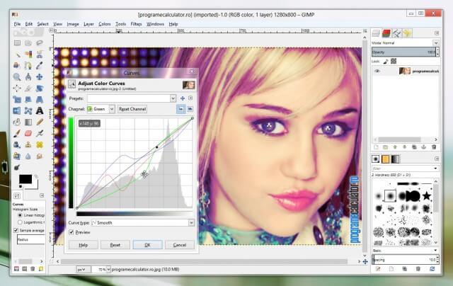 GIMP: cel mai bun program gratuit de modificat poze