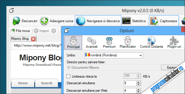 Manager de download pentru Rapishare, Hotfile, Mediafire, etc.