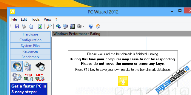 Test Performanta Windows