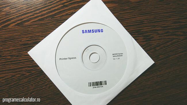 CD-ul cu drivere pentru imprimanta