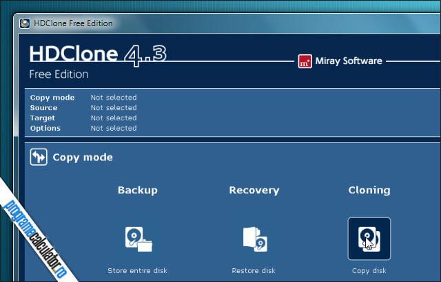 Cum clonez un Hard Disk - HDClone