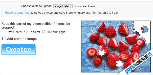 program de facut puzzle din poze