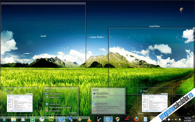 tema pentru windows 7: Lucid