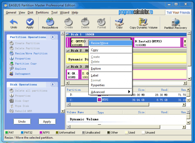 1-Program de modificat si administrat partitiile-EASEUS Partition Master Home Edition (Copy)