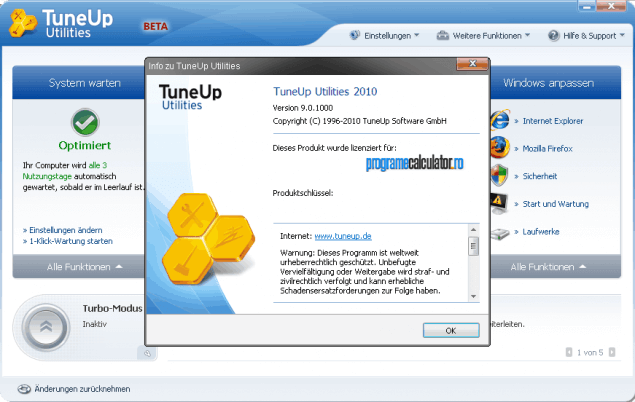 1-TuneUp Utilities 2010 download
