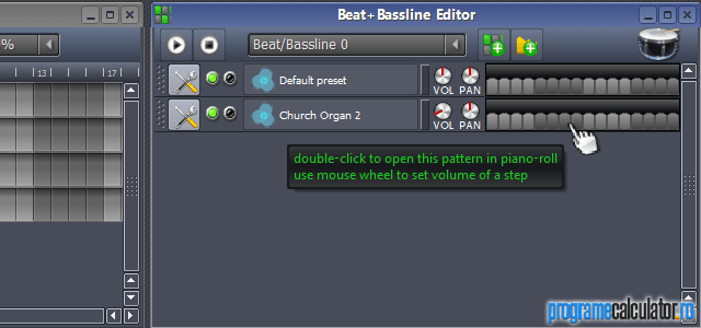 Bassline Editor