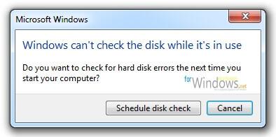 Cum se repara erorile hard disk-ului