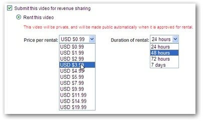 Inchiriaza-ti filmele pe YouTube