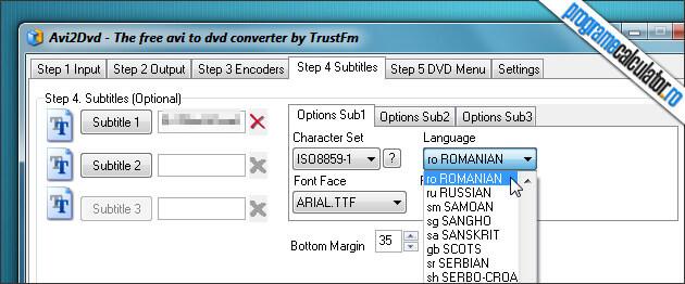 Pasul 4 Adaugare subtitrare