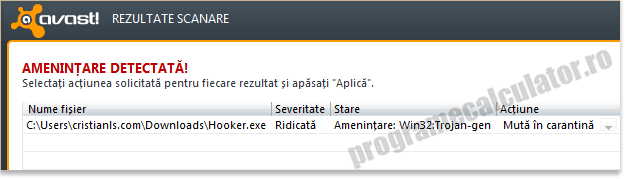 alerta antivirus