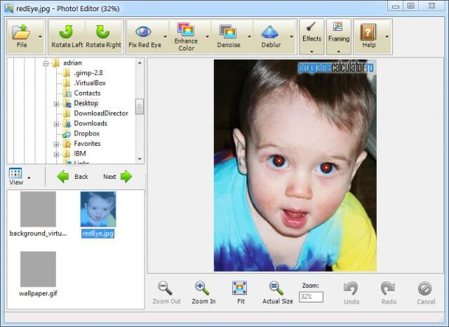 Program de modificat poze: Photo! Editor