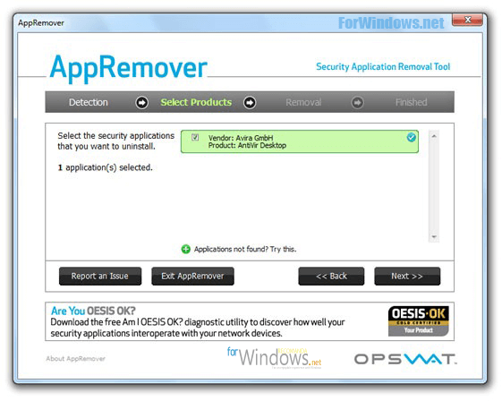 un program cu care poti dezinstala orice antivirus