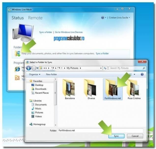 2-Sincronizarea-dateler-cu-Windows-Live-Mesh