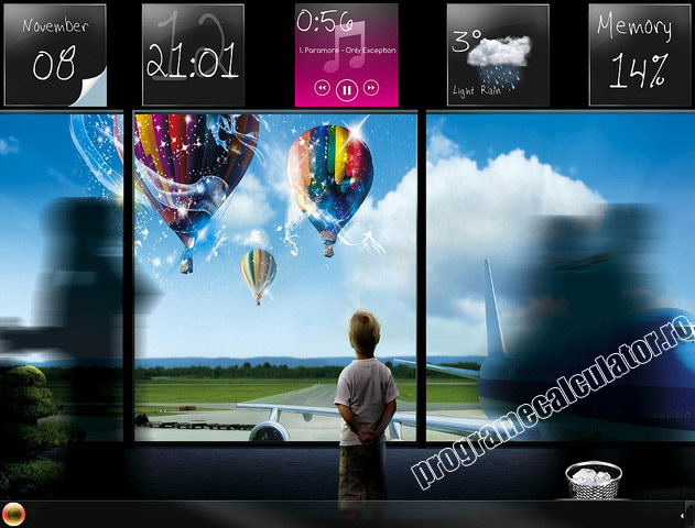 tema particularizata pentru windows 7