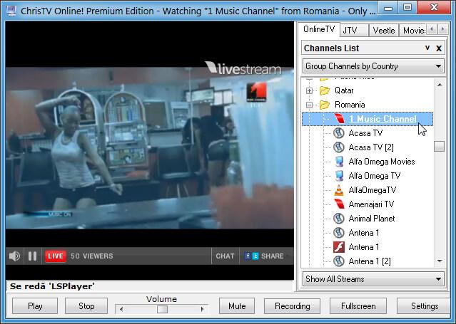 Posturi TV online