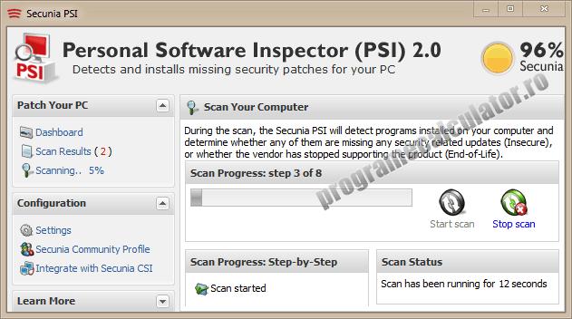 Detecteaza vulnerabilitatile calculatorului