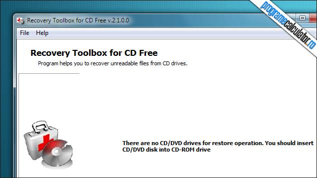 1-Program de recuperat date de pe CD zgariat, deteriorat, stricat