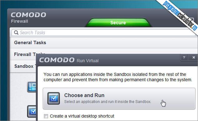 COMODO Firewall-Sandbox