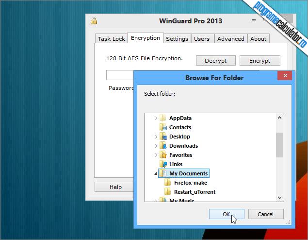Program cu care poti bloca accesul spre foldere, programe si caracteristici ale Windows-ului