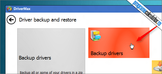 backup drivers DriverMax