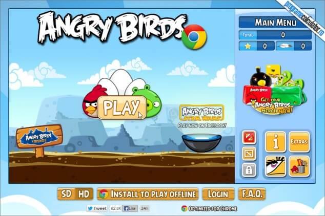 Angry Birds pentru