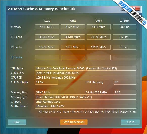 Program de testat calculatorul: Testarea memoriei RAM