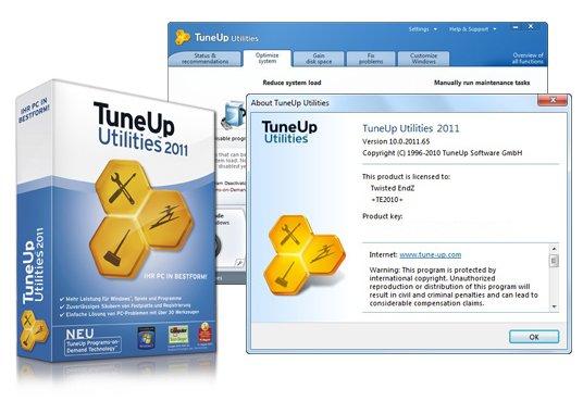 Serial gratuit pentru TuneUp Utilities