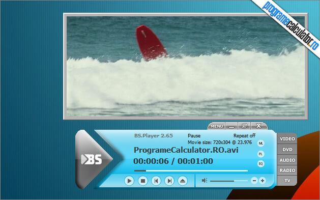 bsplayer: program de vazut filme pe PC care descarca singur subtitrarile