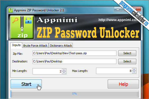 appnimi program de spart parole zip