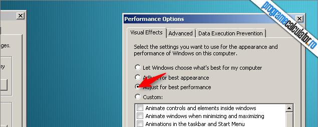 cum faci windows mai rapid seteaza pentru cea mai buna performanta