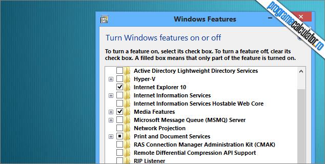 cum poti face windows mai rapid dezactivand componentele nenecesare