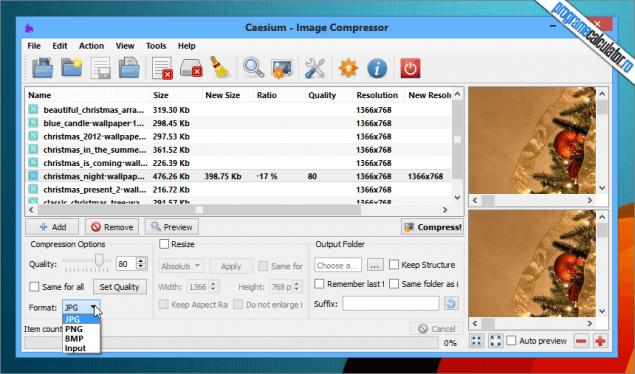 program de micsorat fotografii