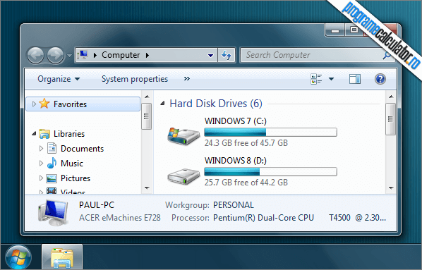 Deschide Windows Explorer in Computer