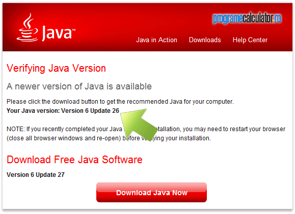 2-versiune_java_instalata_actualizare