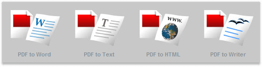 Cum se transforma un PDF in Word, Html sau Text