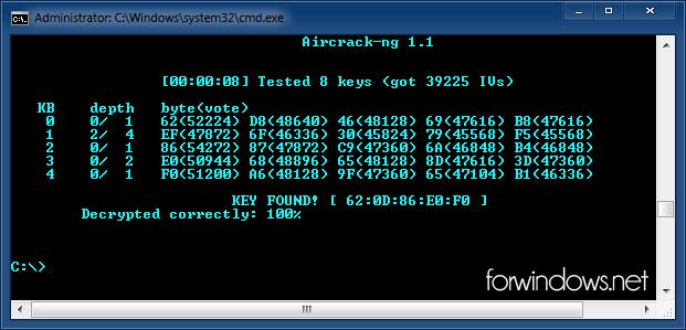 Cum se află parolele cu Aircrack-ng în Windows