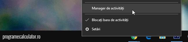 manager activitati