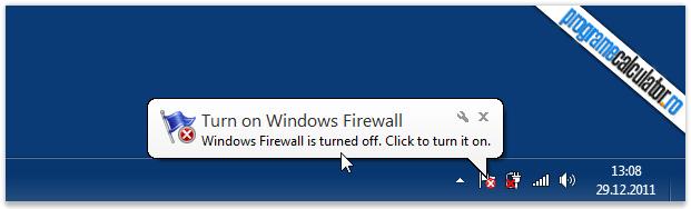 cum se dezactiveaza mesajele baloanele de notificare windows