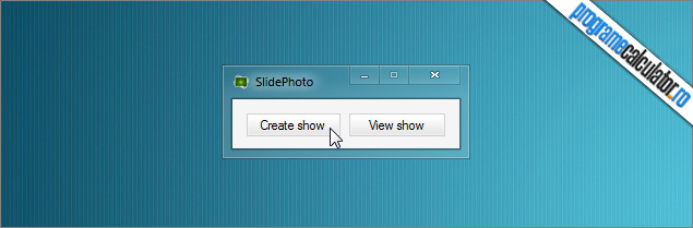 SlidePhoto: Creare Slideshow