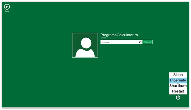 Lock Screen Windows 8, în Windows 7