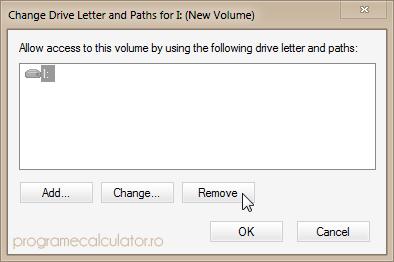 Remove Letter Volume