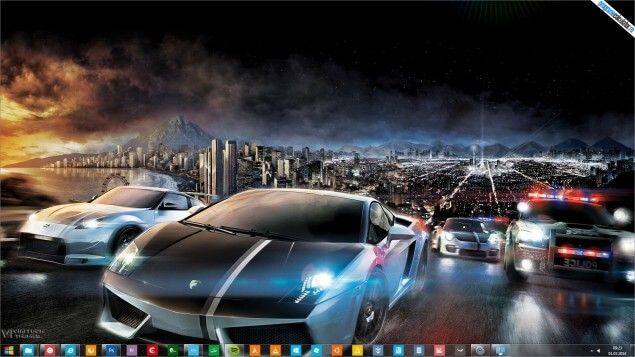 Tema Need for Speed pentru Windows 7