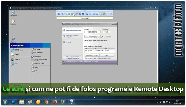 Ce sunt și cum ne pot fi de folos programele Remote Desktop