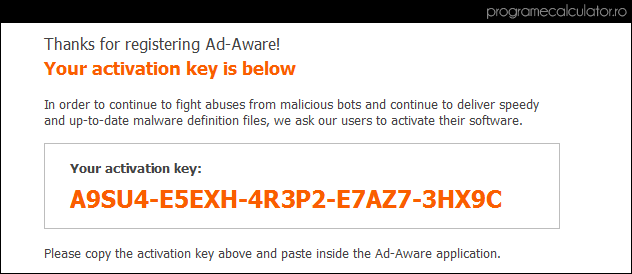 serial Ad-Aware Free Antivirus