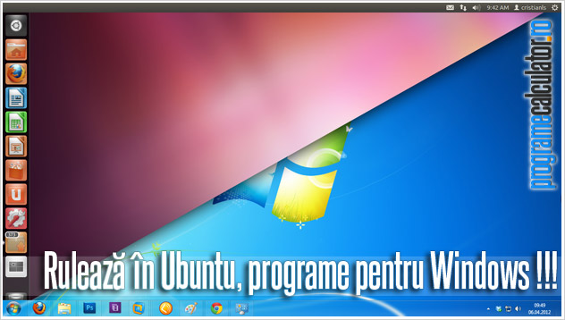 cum se instaleaza / ruleaza programe Windows in Linux (Ubuntu)