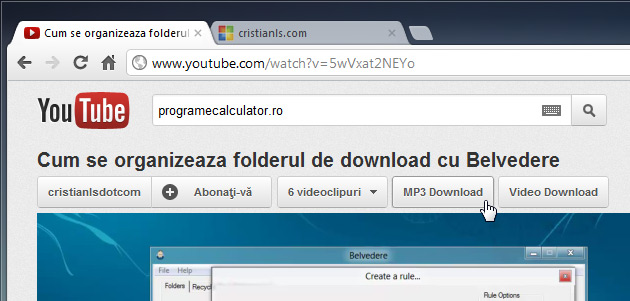descarca melodii și videoclipuri de pe youtube