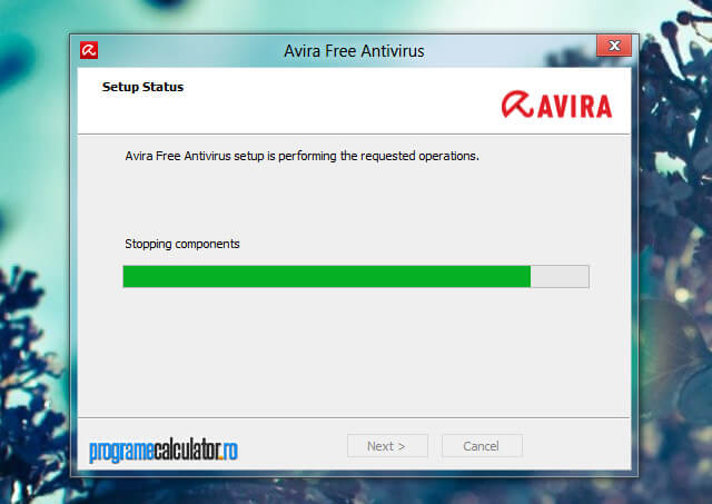 Antivirus pentru Windows 8: Avira Free Antivirus